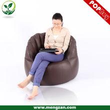 PU muebles de cuero / bean bolsa de sofá sofá a granel / beanbag sofá