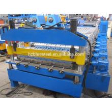Meilleur fabricant de Chine Machine de formage de rouleaux de feuilles de toit Soffit Steel, panneau de panneaux en métal d'aluminium IBR Rollformer
