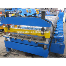 China Manufacturer Metal Rib Roof Sheet Tile Making Machine , Galvanized Steel Aluminum Roof Tile R Panel Forming Machine