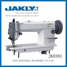 La máquina JK0381 es más capacidad La máquina de coser de punto de cadeneta de alimentación superior e inferior para mayor espesor