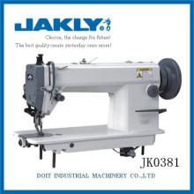 JK0381 A máquina é mais capacidade A máquina de costura de ponto fixo superior e inferior para grosso