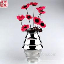 2016 Neue Edelstahl-abstrakte moderne Blumen-Vase-Ausgangsdekoration