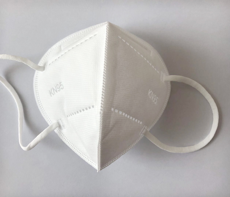 Nonwoven Ffp2kN95 with Elastic Straps Mask
