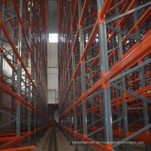 Sistema resistente al almacenaje de acero VNA Rack