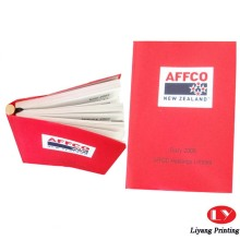 Paper fancy line promotional notebooks for sale