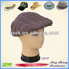 LSC47, Promotional gift in winter plain winter knitted hat