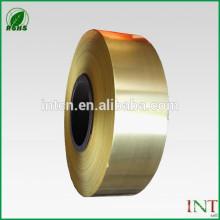 Liga de cobre H68 C26800 fita