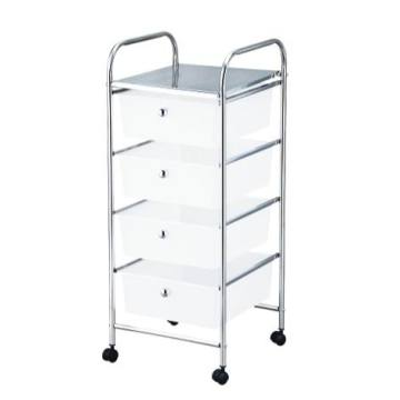 4 Tier Rolling Storage Cart