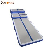 Inflatable home fitness equipment mini air track mat for sale