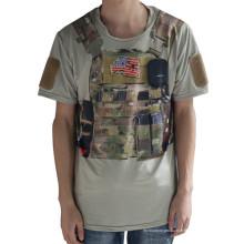 Wolf esclaves tactique Sport T-Shirt Python militaire Camo hommes T-Shirt