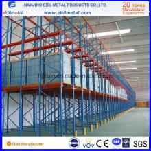 Удобный привод в стойках для хранения склада (EBILMETAL-DR)