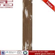фошань новый дизайн фарфора застекленная деревянная плитка