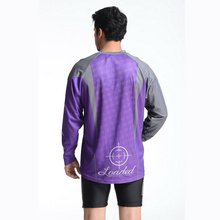 100% Polyester Man′s Long Sleeve Sublimation Print T-Shirt