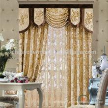 2015 de alta qualidade elegante e design de moda tela cortina real