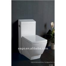 EAGO Square Ceramic One piece Toilet with UPC and CUPC