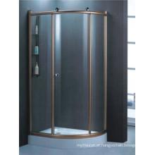 Sanitários Ware alta qualidade temperado caixa de chuveiro de vidro (H007E)