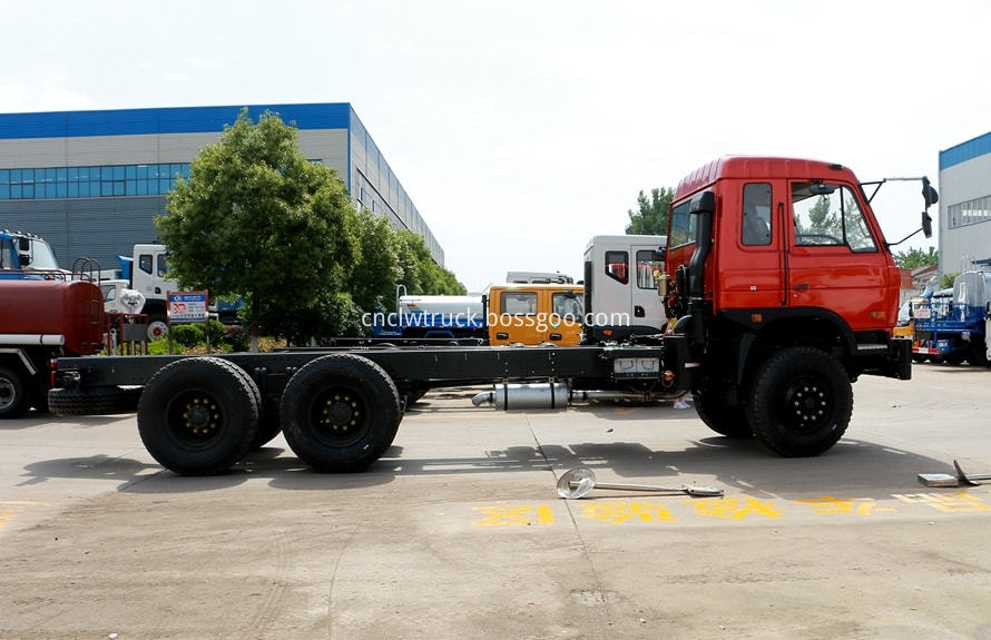 water tank truck chassis 1