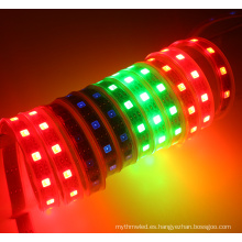 Luz de tira llevada direccionable blanca / negra del PWB digital SJ1211 DC12V