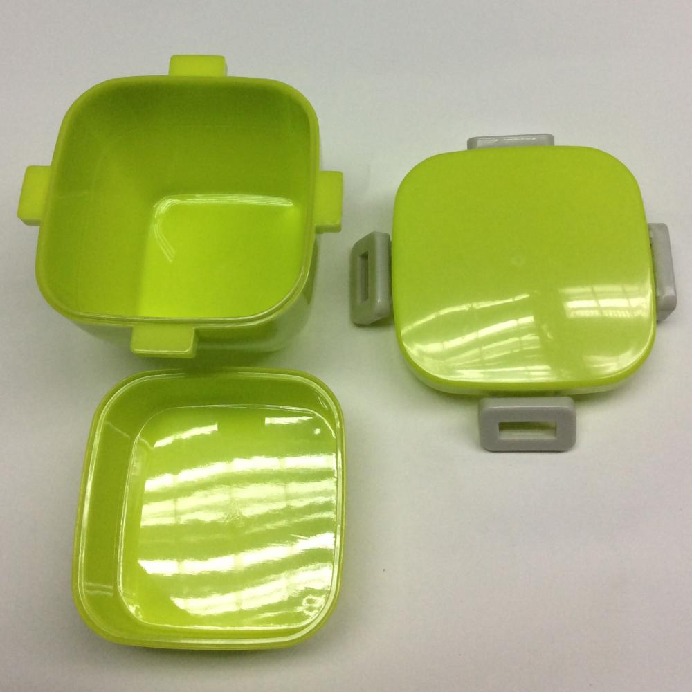 square double-layer lunch box