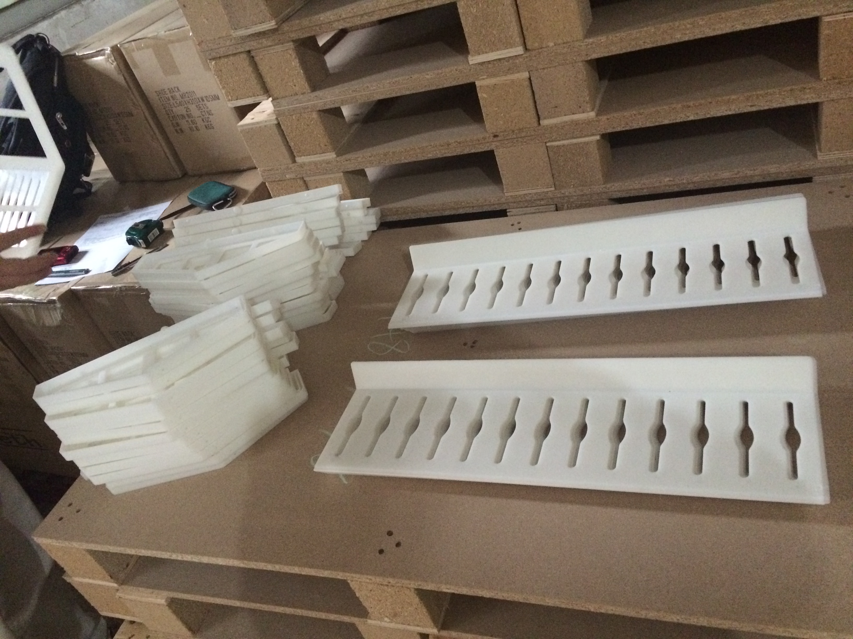 shoe rack fittings for cabinet