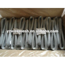 hot dipped galvanized u shape wire factory