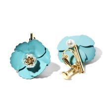 925 Sterling Silver Polished Silver Jewelry 2020 Stud Earrings For Women