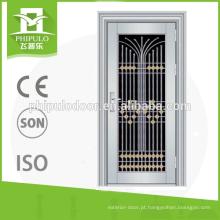portas atrativas e duráveis da porta do aço inoxidável usadas para o projeto home