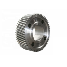 Factory manufacture ISO14001 approved professional cnc machining shaft spur ring gear