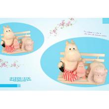 The lovely hippopotamus family
