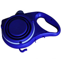 Hot Selling Retractable Dog Leashes With Water Bottle Convenient Pet Bowl Pet Supplies For Training Walking