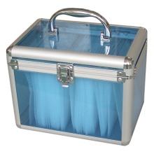 Profesión personalizada Aluminio caso de grabación con espuma personalizada