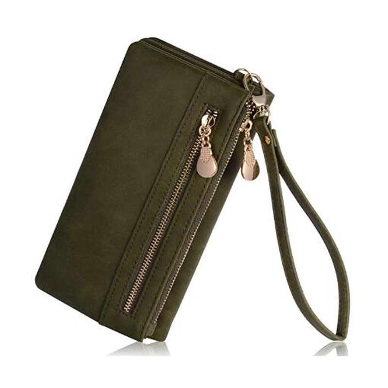 Green Multi-Function Wallet
