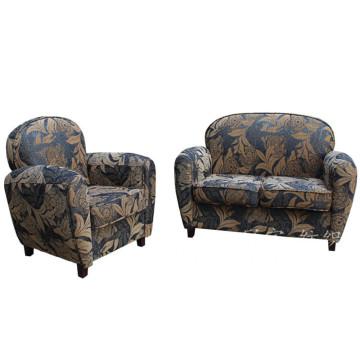 Tecido de poliéster decorativo parece tecido para sofá