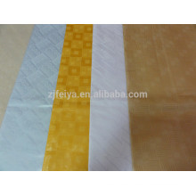 African Garment fabric and textile 100%cotton bazin brocade for lady dress feitex China