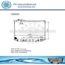 RADIATOR 85-88 1640070110/1640070120 Pour TOYOTA CRESSIDA Fabricant et vente directe!