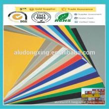 PE/PVDF coated Exterior Decoration Aluminum plate/sheet