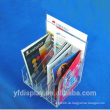 Acryl Zeitschriftenhalter / Acryl Datei Display / Acryl Literatur Veranstalter