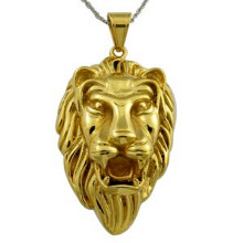 Gold Pendant Men Hot Sale Gold Plated 18k Lion Necklace