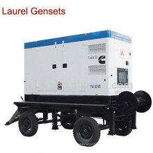 Gerador Diesel Portátil / Genset de Reboque 25kVA Cummins Engine