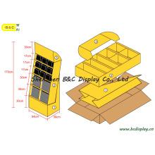 Cardboard Display Stand, Paper Display Rack, Counter Stand Display, Gift Box (B&C-A057)