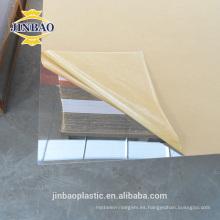 claro y color hoja de vidrio plexi decorativo de 3 mm