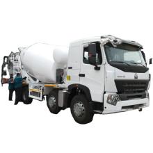 China sinotruk howo 6x4  diesel concrete mixer truck with pump 10cbm
