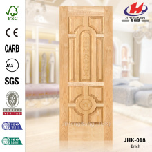 Interior Bathroom Natural Wood Veneer Door Panel