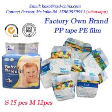 Quanzhou Pañal Fabricante África Hot Sell Pañales Desechables De Pañales Para Dormir Desechables