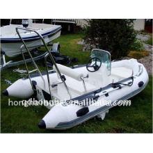 CE 12ft RIB360B costela pequeno barco motor de popa barco inflável