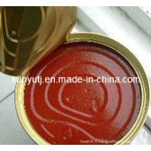 Ketchup à la tomate en étain