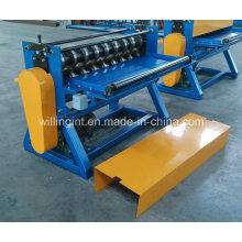 Alta velocidade de aço galvanizado simples máquina de corte