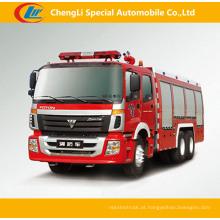 Foton 6 * 4 caminhões de combate a incêndios para venda