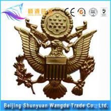 OEM cobre, latão, metal de alumínio crachá material para Badge Badge e lapela Pin Badge