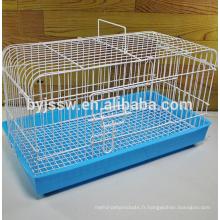 Cage d'élevage de lapin durable et belle, cage de transport de lapin, cage de lapin pas cher